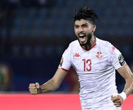 Sassi helped Tunisia book a semi-final place in the AFCON. AFP
