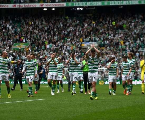 Le Celtic remporte un nouveau titre. AFP