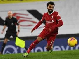 Salah analisou a temporada do Liverpool. AFP