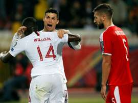 Portugal beat Serbia to claim first Euro 2020 qualifying win. AFP
