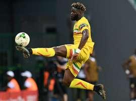 Wagué disputó la pasada Copa de África. AFP