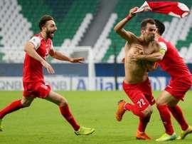Al Sadd loat 1-0. AFP
