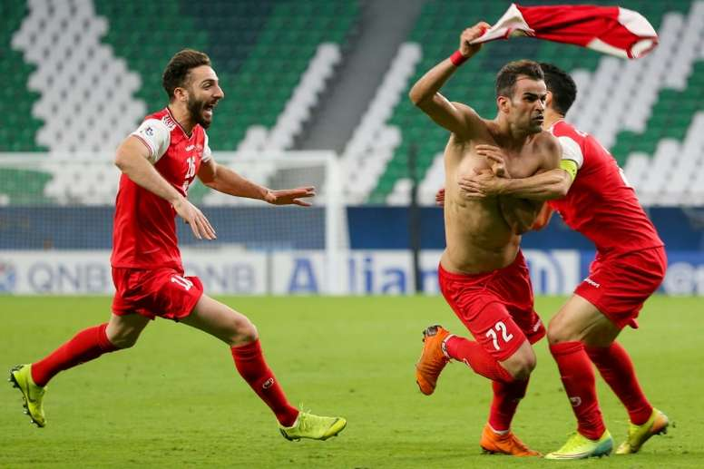Persepolis drawn with Pakhtakor after stunning Xavi. AFP