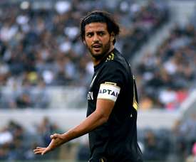 Jonathan Dos Santos thinks Vela could fit into Barcelona. AFP