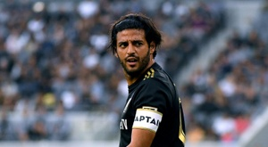 Carlos Vela of Los Angeles FC closed out his 2019 regular season with a hat trick. AFP