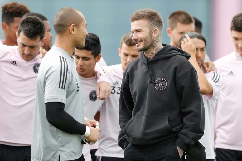 Beckham relief as Inter Miami prepare for MLS bow. AFP