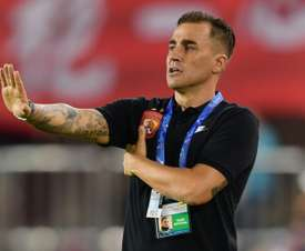 Cannavaro saw his side knocked out of the AFC Champions League. AFP