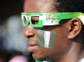 A Nigeria fan in Lagos on June 30, 2014