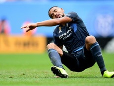 New York City splits with ex-Guardiola assistant Torrent. AFP