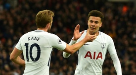 Tottenham's Harry Kane (left) and Dele Alli are both out of action until March