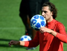 Rabiot is taking PSG to a tribunal for freezing him out of first team matters. AFP