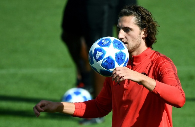 Rabiot could play for Inter Milan next season. AFP