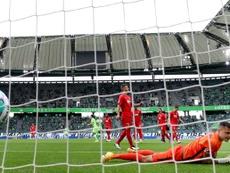 Augsburg and Wolfsburg drew 0-0 on Sunday. AFP