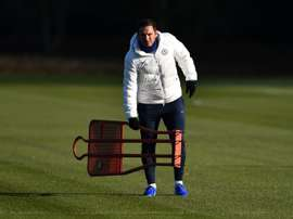 Lampard challenges young Chelsea players to step up. AFP