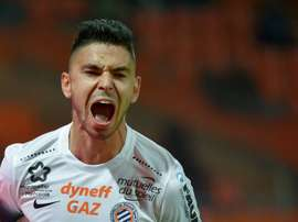 Montpelliers French midfielder Morgan Sanson, pictured on October 29, 2016, will play for Marseille after a 12 million euro trade