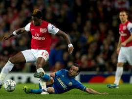 Sion cancel Song, Djourou contracts due to coronavirus. AFP