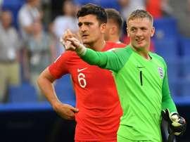 Jordan Pickford est sans aucun doute le sauveur de l'Angleterre. Besoccer