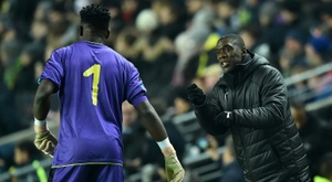 Cameroon are looking to win back-to-back AFCON titles. AFP