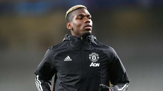 Pogba could be on the move. AFP