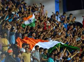 Chhetri called for more support of Indian football. AFP