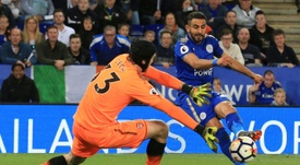 Mahrez has pointed to the Champions League as his reason for joining Man City. AFP