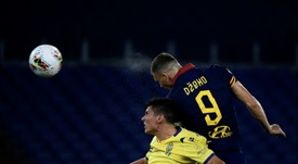 Dzeko ne devrait pas quitter la Roma. AFP
