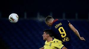 Roma foi punida com a derrota. AFP