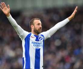 Glenn Murray will stay at Brighton until 2020. AFP