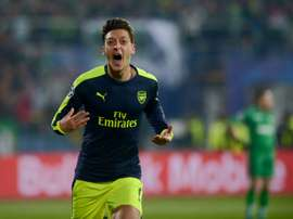 Ozil was the man of the match. AFP