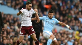 Burnley winger Brady out for 'substantial' period with patellar tendon tear. AFP