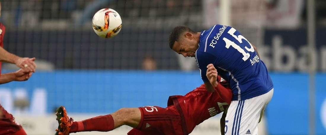 Dennis Aogo n'a que très peu joué cette saison, à Schalke. AFP