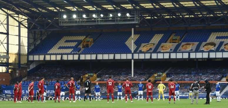 Klopp hopes derby unites virus-hit Liverpool. AFP