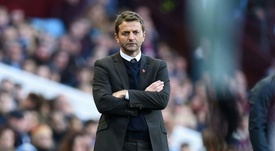 Sherwood thinks that Kane has already decided his future. AFP