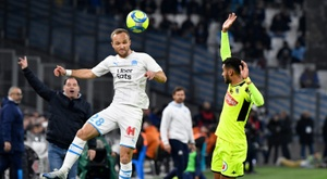 Marseille and Angers played out a goalless draw at the Stade Velodrome. AFP