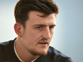 Maguire will make his Man United debut on Sunday after an £80 million move from Leicester. AFP