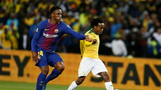 Tau has joined Brighton from the South African side. AFP
