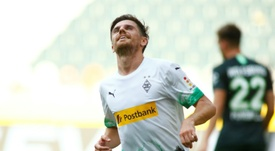 Jonas Hofmann got a brace in Gladbach's 3-0 win over Wolfsburg. AFP