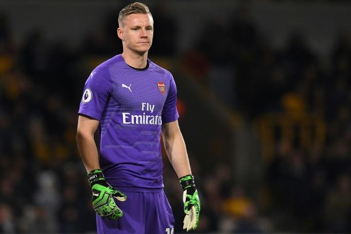 Leno poderia deixar o Arsenal no ano que vem. AFP