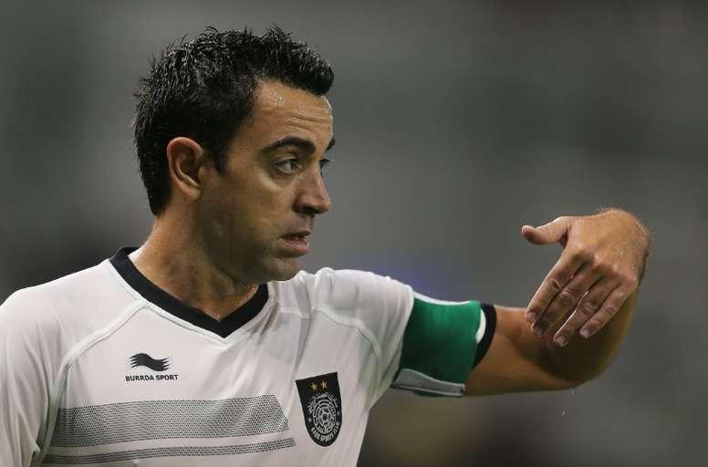 Xavi a voulu parler de la décision de Lopetegui. AFP