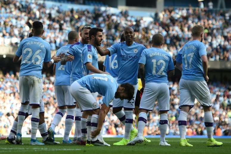 Los equipos de la Premier se unen contra el City. AFP