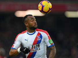 Jordan Ayew has not had a great season at Crystal Palace. AFP