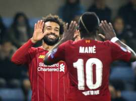 Salah and Mané, Liverpool's best according to Klopp. AFP
