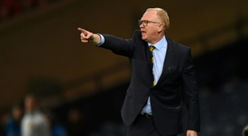 McLeish acknowledged the poor performance. AFP