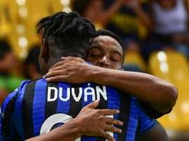 Zapata pourrait faire son retour contre la Juve. AFP
