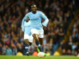 Yaya Toure spent 8 years in the Premier League. AFP