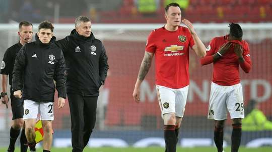 Twitter had a joke at Phil Jones' expense and have now apologised to the player. AFP