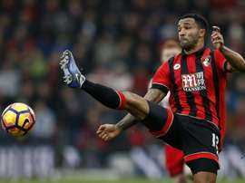 Wilson pictured for Bournemouth in 2016. AFP
