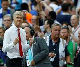 Arsene Wenger's side came back to shock Bayern. AFP
