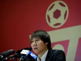 China's football squad left 'anxious, homesick' by coronavirus. AFP