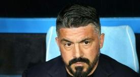 Gattuso analizza la sfida. AFP